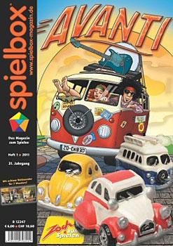 spielbox 1/2011 inklusive Manneken pis Erweiterung zu 7 Wonders