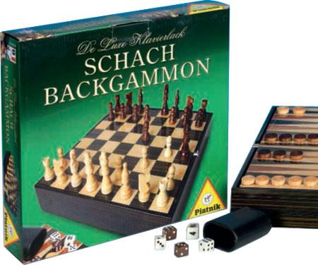 Deluxe Schach-Backgammon