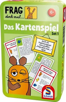 Die Maus - Frag doch mal ... Das Kartenspiel Set 1
