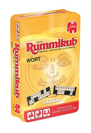 Original Rummikub kompakt - Wort Metalldose