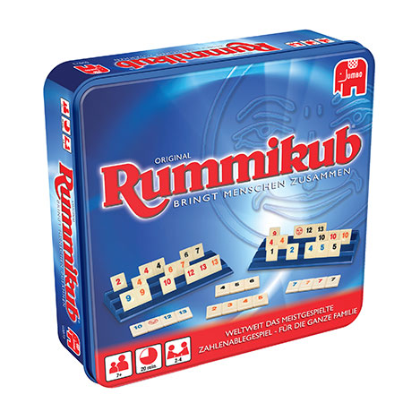 Original Rummikub Metalldose