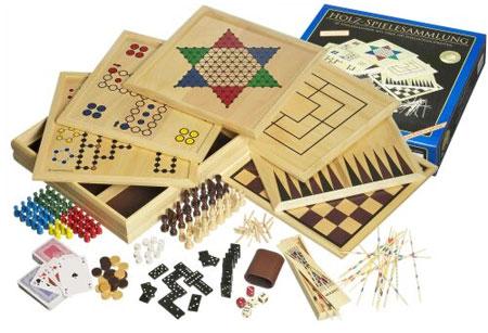 Holz Spielesammlung 100 deLuxe (Philos)