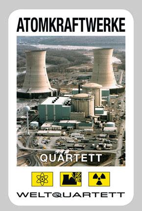 Das Atomkraftwerk Quartett