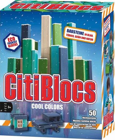 CitiBlocs - Cool Colors 50er Set