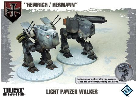 Dust Tactics - Light Panzer Walker (engl.)