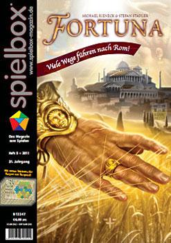 spielbox 5/2011 inklusive Spielertableaus für Die Burgen von Burgund