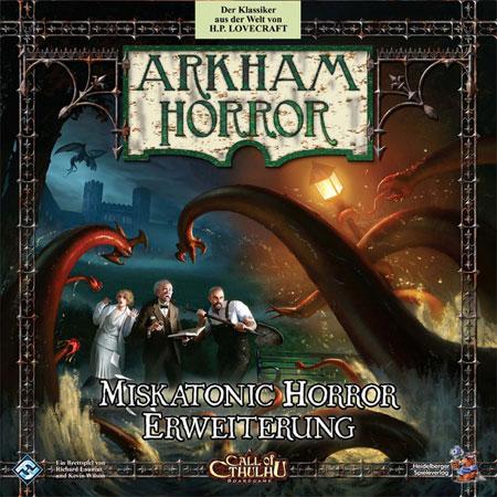 Arkham Horror - Miskatonic Horror Expansion (dt.)