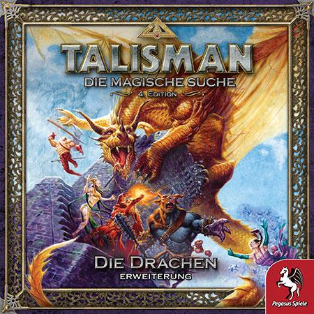 Talisman: Die Magische Suche (4. Edition) - Die Drachen Erweiterung