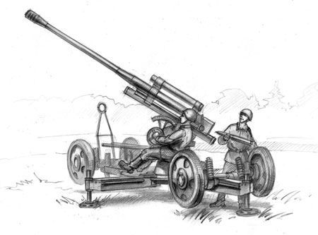 Operation Barbarossa 1941 - Sovietische 85mm Flak