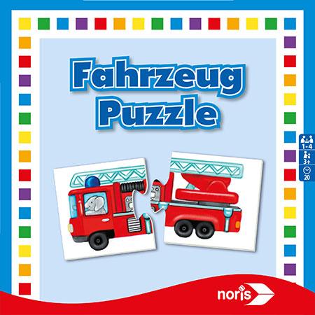 Fahrzeug-Puzzle Spiel