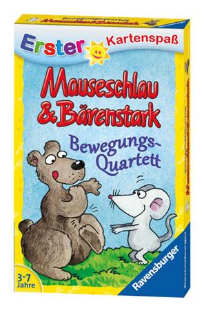 Mauseschlau & Bärenstark - Bewegungs-Quartett