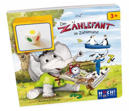 Der Zählefant im Zahlenland (Lernspielbuch)