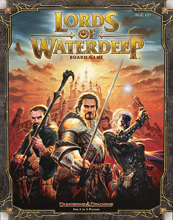 Dungeons & Dragons - Lords of Waterdeep (engl.)
