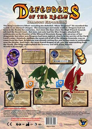 Defenders of the Realm - Dragon Expansion (engl.)