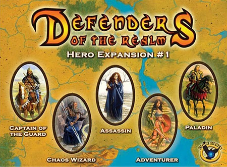 Defenders of the Realm - Hero Expansion 1 (unbemalt) (engl.)