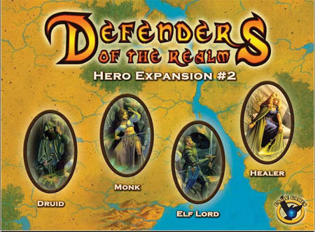 Defenders of the Realm - Hero Expansion 2 (engl.)