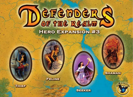 Defenders of the Realm - Hero Expansion 3 (engl.)