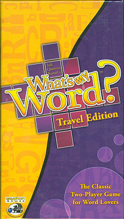 Whats my Word? - Travel (engl.)