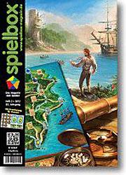 spielbox 2/2012 mit Erweiterung zu Hawaii