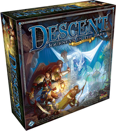 Descent - Journeys in the Dark 2nd Edition (engl)