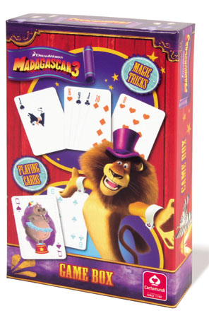 Madagascar 3: Geschenkset