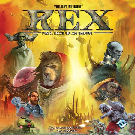 Twilight Imperium - Rex (dt.)