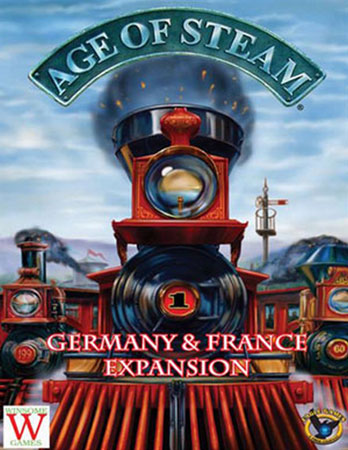 Age of Steam - France & Germany (engl.)