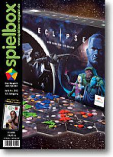 """spielbox 4/2012 inklusive 7 Wonders Karte """"Louis"""""""