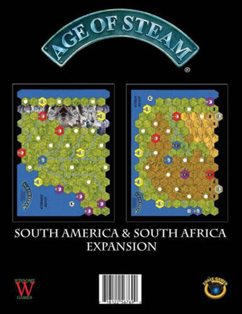 Age of Steam - South America & South Africa (engl.)
