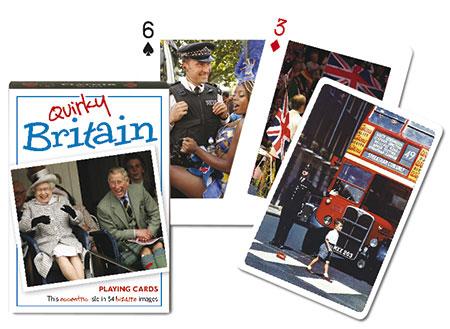 Quirky Britain - Spielkarten