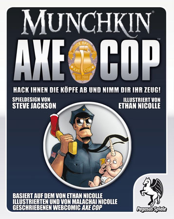 Munchkin Axe Cop (dt.)