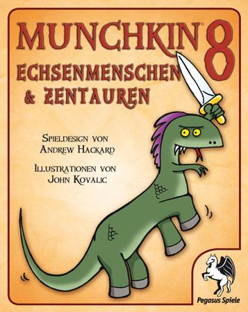 Munchkin 8 - Echsenmenschen & Zentauren