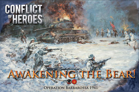 Conflict of Heroes - Awakening the Bear! 2nd Edition (engl.)