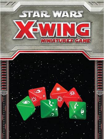 Star Wars X-Wing: Würfelset (engl.)