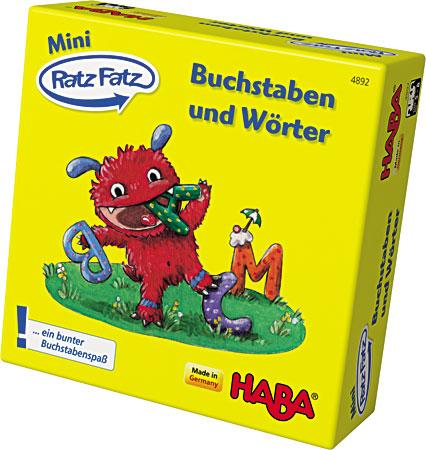Mini-Ratz Fatz - Buchstaben und Wörter