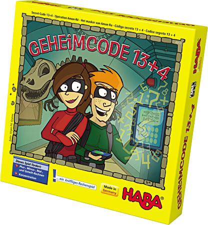 Geheimcode 13 + 4