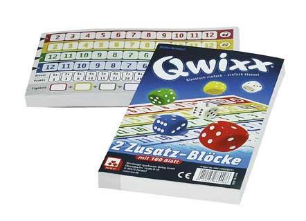 Qwixx Blöcke