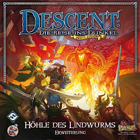 Descent 2. Edition - Die Höhle des Lindwurms Erweiterung (dt.)