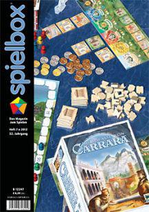 spielbox 7/2012 (inkl. Spiel vom Schmiel)