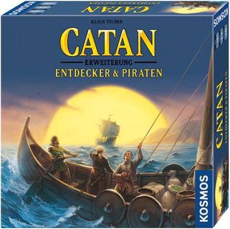 Catan - Entdecker und Piraten