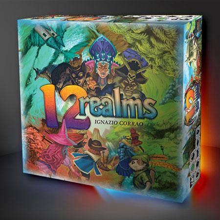 12 Realms (engl.) - Basisspiel - bemalte Figuren