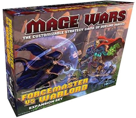 Mage Wars - Forcemaster vs. Warlord Expansion Set (engl.)
