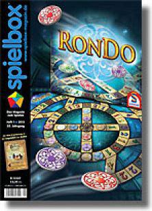 spielbox 1/2013 inklusive Die Legenden von Andor Zusatzkarte