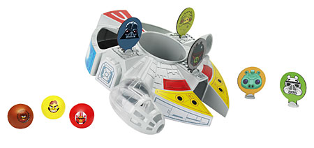 Angry Birds - Star Wars - Millennium Falcon Bounce-Spiel