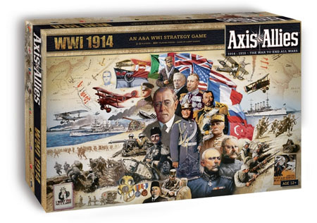 Axis & Allies - Worldwar 1 - 1914 (engl.)