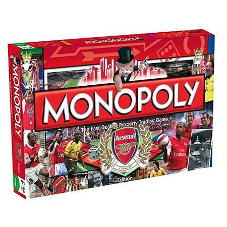Monopoly Arsenal FC (engl.)