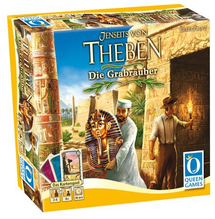 Jenseits von Theben - Die Grabräuber (Kartenspiel)