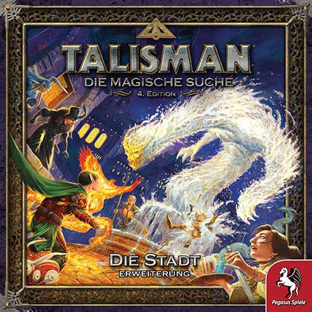 Talisman: Die Magische Suche (4. Edition) - Die Stadt Erweiterung