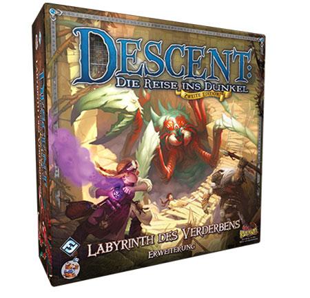 Descent 2. Edition - Labyrinth des Verderbens Erweiterung