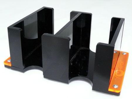 e-Raptor Kartenhalter - 2L Solid (Plexiglas schwarz)